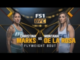 THE ULTIMATE FIGHTER FINAL Christina Marks vs Montana De La Rosa