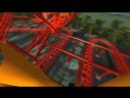 3D Rollercoaster- Falcon (3D Glasses needed) (No Limits Simulator)