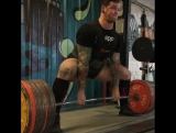 Брайс Кравчик - тяга 350 кг