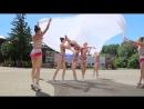 Сборная Пензы по художественной гимнастике на закрытие смены Гвардеец 2
