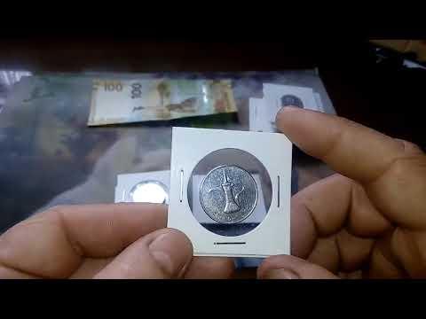 Распаковка монет от канала Мonetka
