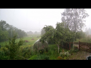 Дождь в Домкино.