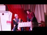 Кадры из спектакля от 17.12.2017 г. Героев играют Иван Попов и Александра Мартынова
