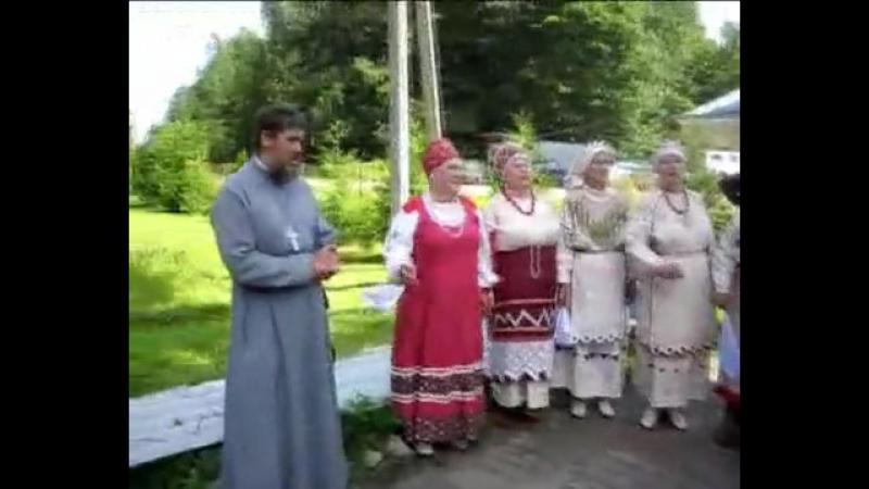 В Леохново у Святого Антония (Леохновский монастырь. Старая Русса)