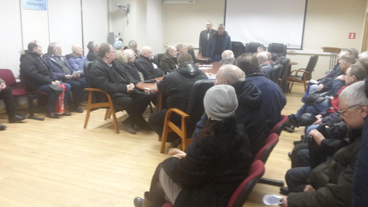 Собрание руководителей объектов гаражно-стояночного хозяйства прошло в Лианозове