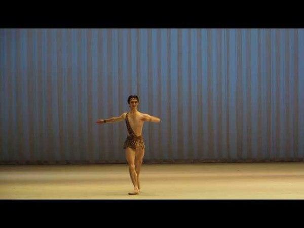 Давид Залеев Вариация Актеона из балета Эсмеральда