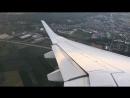 Уход на второй круг Lufthansa E195