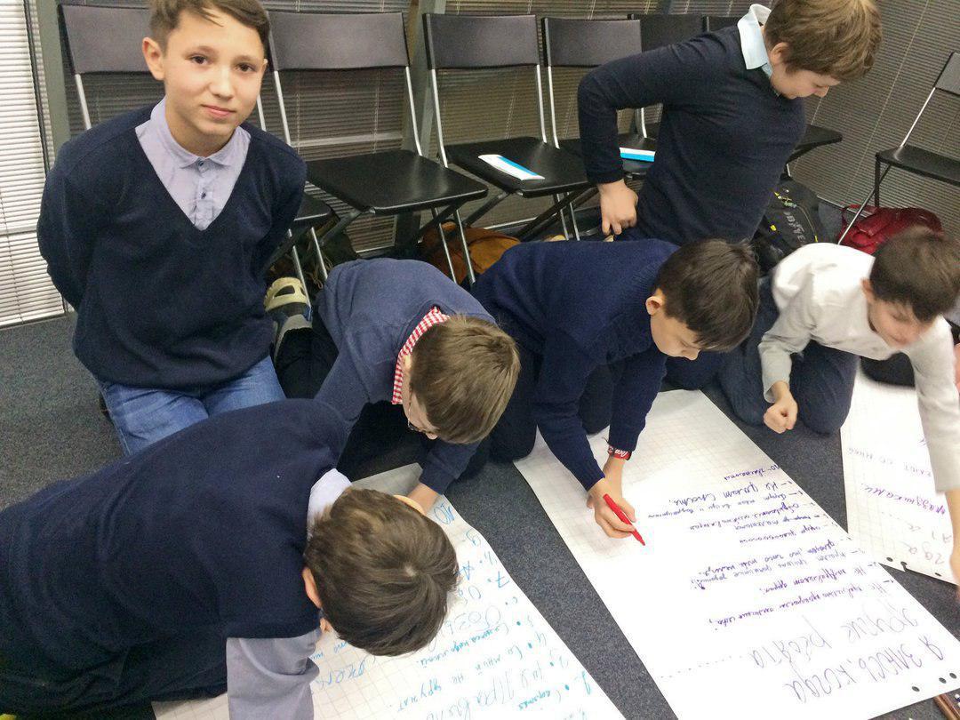 Тренинг «Дружба в классе» прошел в школе на Новгородской