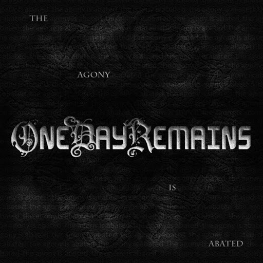 One Day Remains альбом The Agony Is Abated