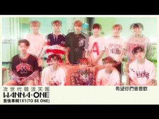 170809 @ Wanna One For Warner Music Taiwan