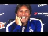 Конте засмеялся после вопроса об интервью Диего Косты