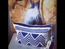 ( Final ) Tutorial crochet Wayuu clutch / bag .Ethnic / Geometric design.Part 6