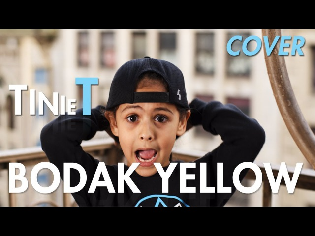 Cardi B Bodak Yellow Cover by 6 year old Tinie T MihranTV