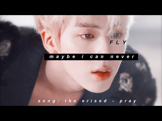 Jin angel AU yoonjin :: maybe i can never fly