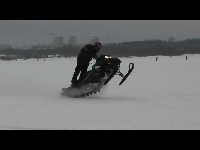 Новинка BRP снегоход Lynx Boondocker 850 E TEC 3900 DS