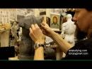 Лепка обрубовки торса 6 Обучение скульптуре Фигура 11 серия