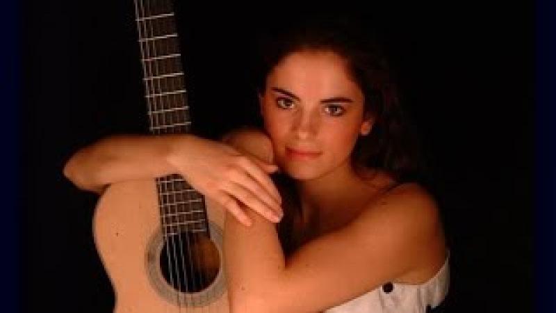 И. С. Бах. Первая виолончельная сюита, Прелюдия и Аллеманда Соль мажор. Гитара: Анна Видович.