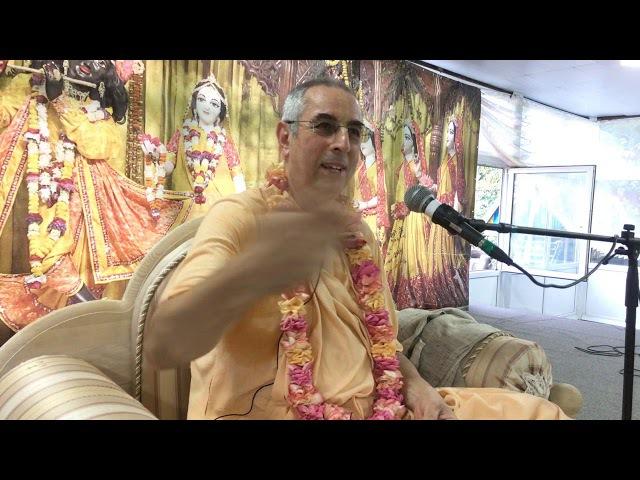 Niranjana Swami – Meeting with disciples at Sadhu sanga, Russia – 13 Sep 2017