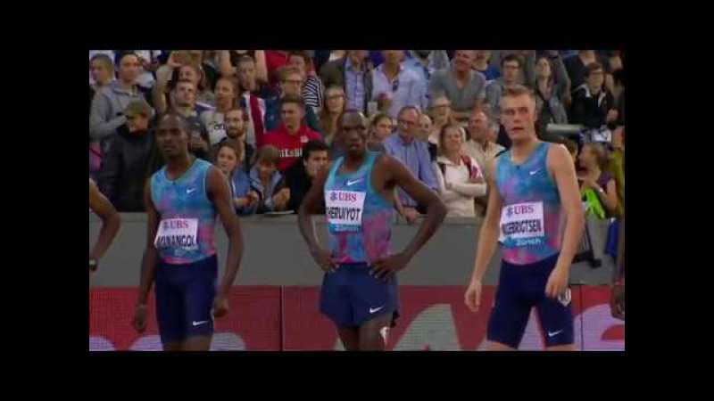 Men's 1500m IAAF Diamond League Weltklasse Zurich 2017 English Commentary
