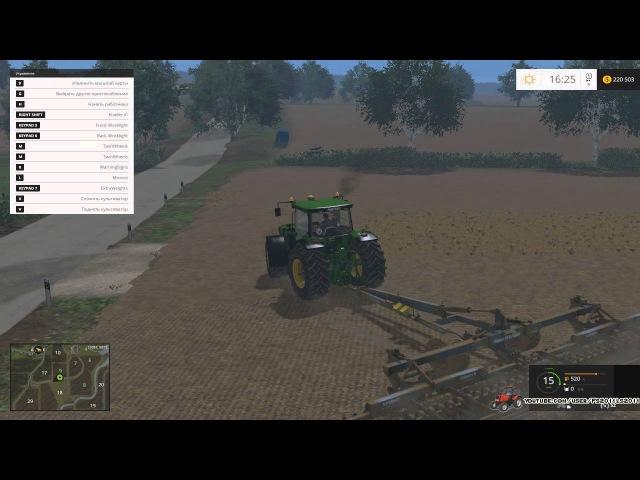 МодДжон ДИР 8530 для Farming Simulator 2015
