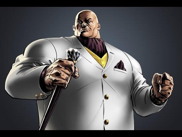 КИНГПИН (обзор) Чемпион злоупотребляющий бургерами. MARVEL : Битва чемпионов.