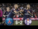 PSG vs Toulouse 6-2 - All Goals Extended Highlights - Ligue 1 20/08/2017 HD