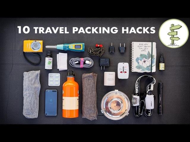 10 Essential Travel Packing Tips Hacks - Minimalist Traveling