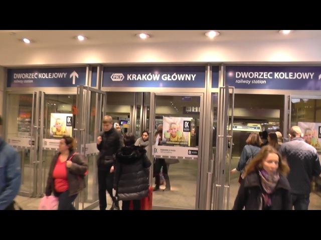 Krakow - Rail station .Coach Station. Galeria Krakowska (OVERVIEW)
