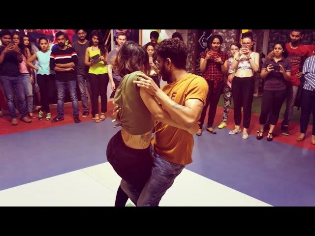Cornel and Rithika | Bachata Sensual | Shameless - Sofia karlberg ft. the Weeknd | Rocket remix