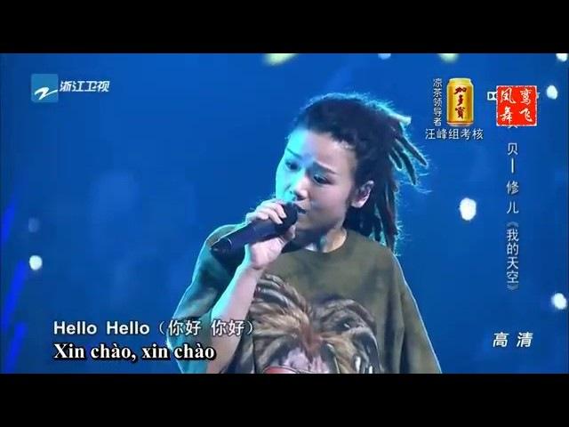 Khoảng trời của tôi Màn song ca bùng nổ Vòng đối đầu The Voice of China 2015 Bối Bối and Tu Nhi