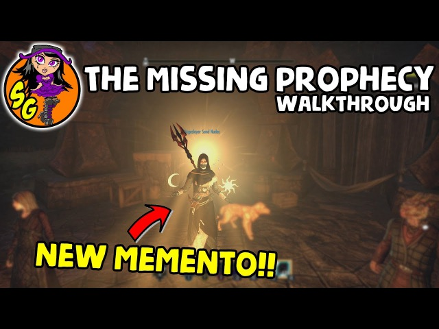 ESO: How to get new memento (The Missing Prophecy WALK THROUGH)