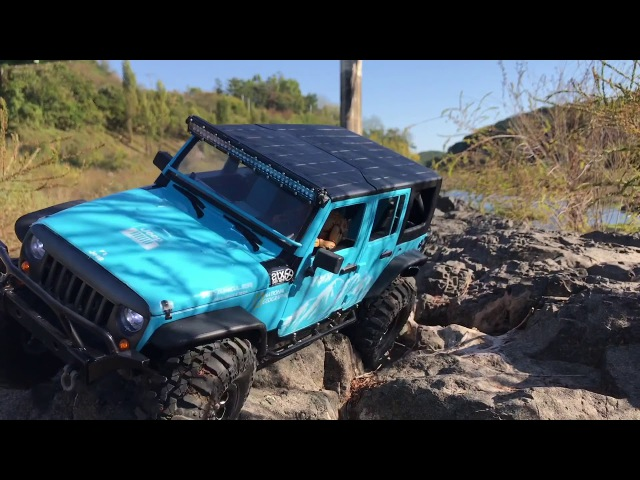 Traxxas TRX4 | New Bright Rubicon JK 4Dr on the TRX4 | Rock Trail _ ReEdit without Music