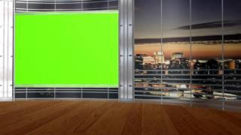 Футаж Студийный екран на хроме