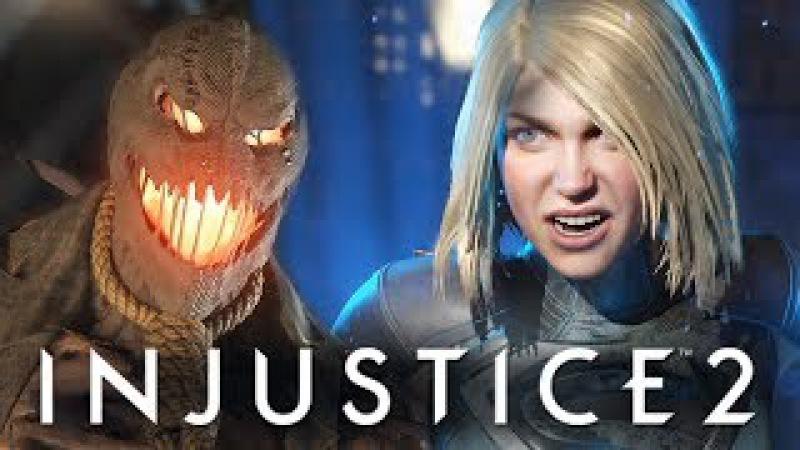Injustice 2 - БИТВА ПРОТИВ ДЕВУШКИ! КТО КРУЧЕ