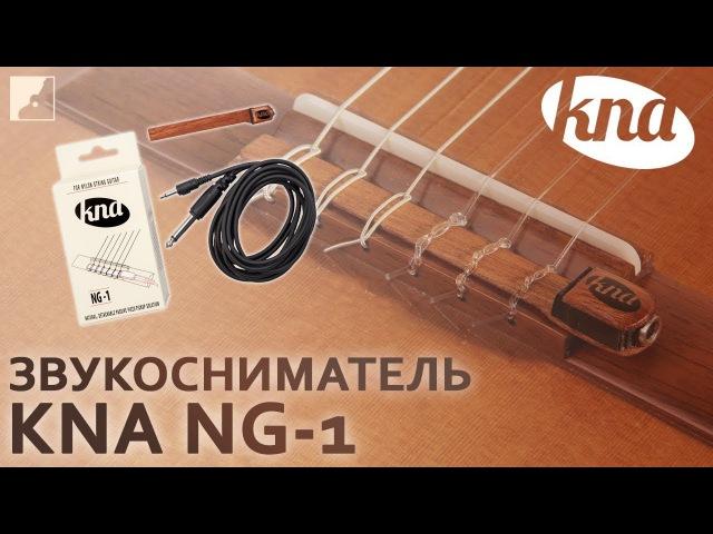 Обзор звукоснимателя для классической гитары KNA NG-1