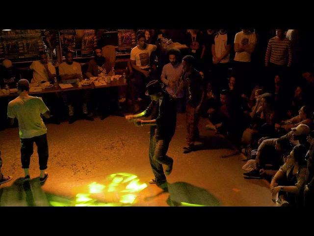 PRINCE JEFF (West Gang) VS JIKAY DIMUST (BPF) Demi-Finale Popping AOD 11
