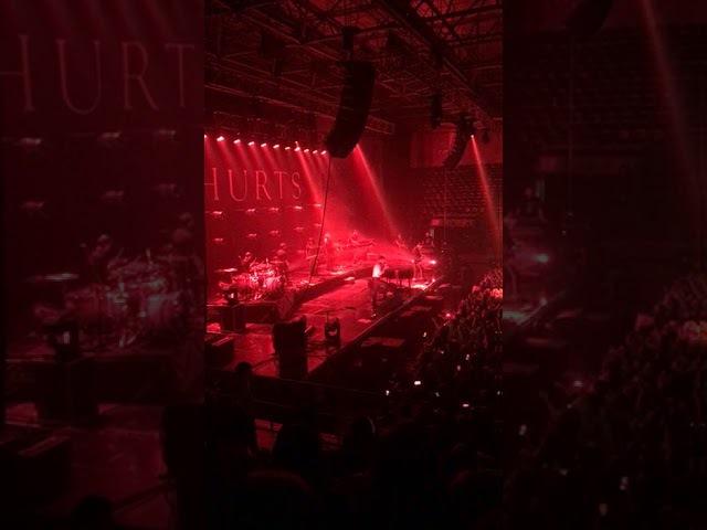 HURTS - Nothing will be bigger than us, Irkutsk, Trud Arena, 08.02.2018