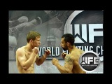 WFC 80 Johnny Valimont Vs Austin Vinson September 30th,2017 at Lucky Eagle Casino