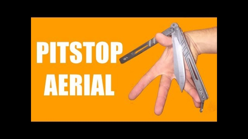 Balisong Tutorial - (Pitstop Air) - Advanced 22