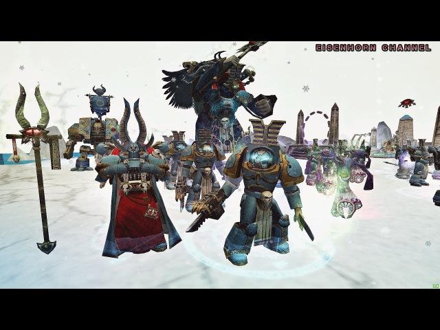 Обзор расы ПОСЛЕДОВАТЕЛИ ТЗИНЧА Warhammer 40,000: Dawn of War - 💣BLOODLINE💣 1440p