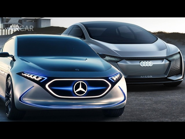 2019 Audi Aicon Vs Mercedes EQA ► Which Concept Is More Amazing