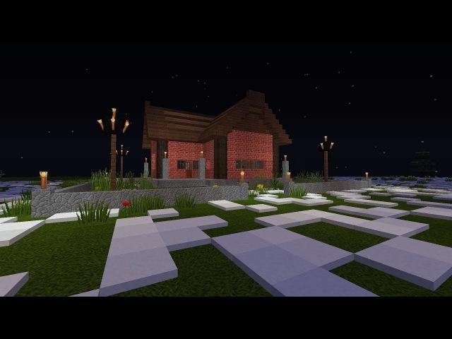 Как построить дом в Майнкрафте | How to build a house in Minecraft