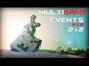 MultiGame Events PvP 2x2 | NooZ ッ