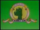 Реклама жевательная резинка Dinosaur Planet 1994 жвачка из 90хПланета Динозавров реклама