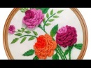 Brazilian Embroidery Pattern | Rose Embroidery: Embroidery Design by Hand