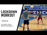 Defense Drill 3 - Lateral Reaction Drills Lockdown Workout