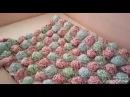Мастер-класс одеялко «Лесная полянка» в стиле бон-бон