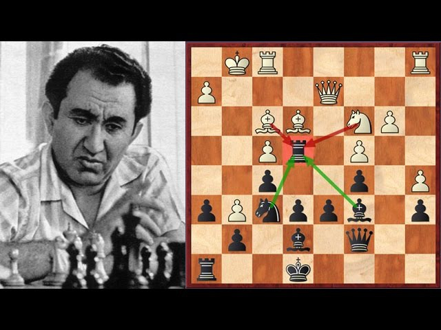 Petrosian's Immortal Centralized Rook