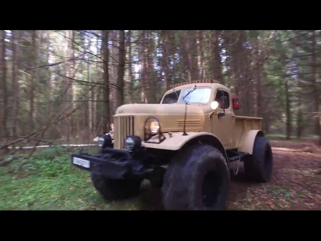 ЗИЛ-157 Лесоруб съёмки на НТВ