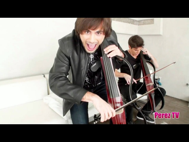2Cellos do Guns N Roses' Welcome To The Jungle (Perez Hilton Performance)